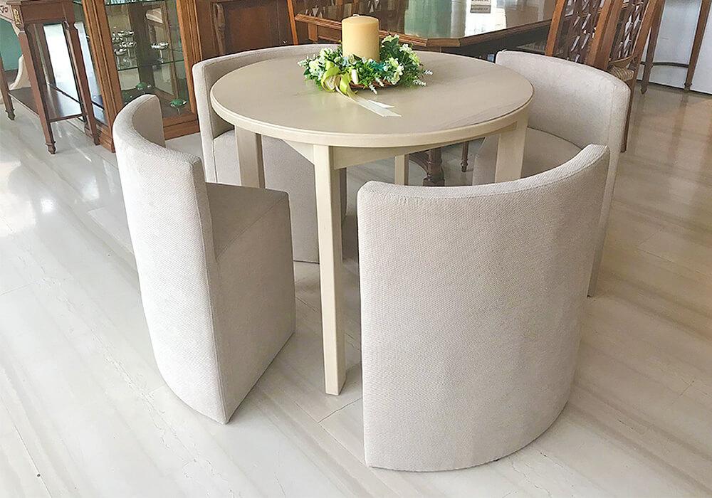 Τραπέζι με Ενσωματωμένες Καρέκλες | Φωτόπουλος Π. Φάληρο